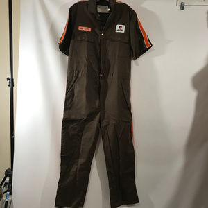 Vintage United Airlines Ramp Service Coveralls 42